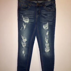 Rue 21 mid rise curvy jeans